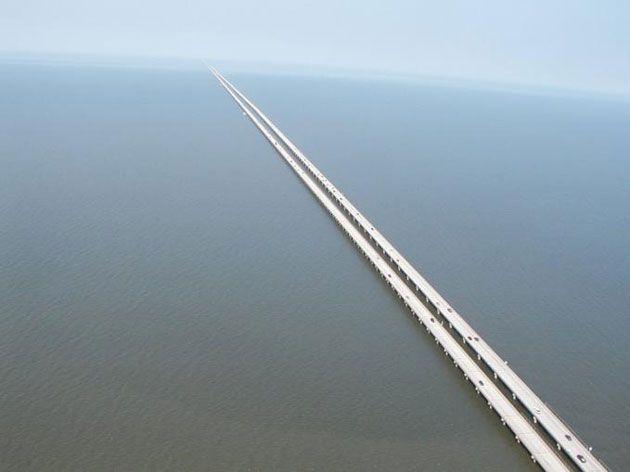 Puente sobre el Pontchartrain Causeway USA Estos son los 10 puentes más temidos del mundo (+fotos)