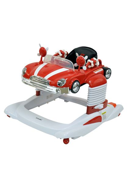 a844cdbe388a So cute! Love this retro car baby walker bouncer Combi All-in-One ...