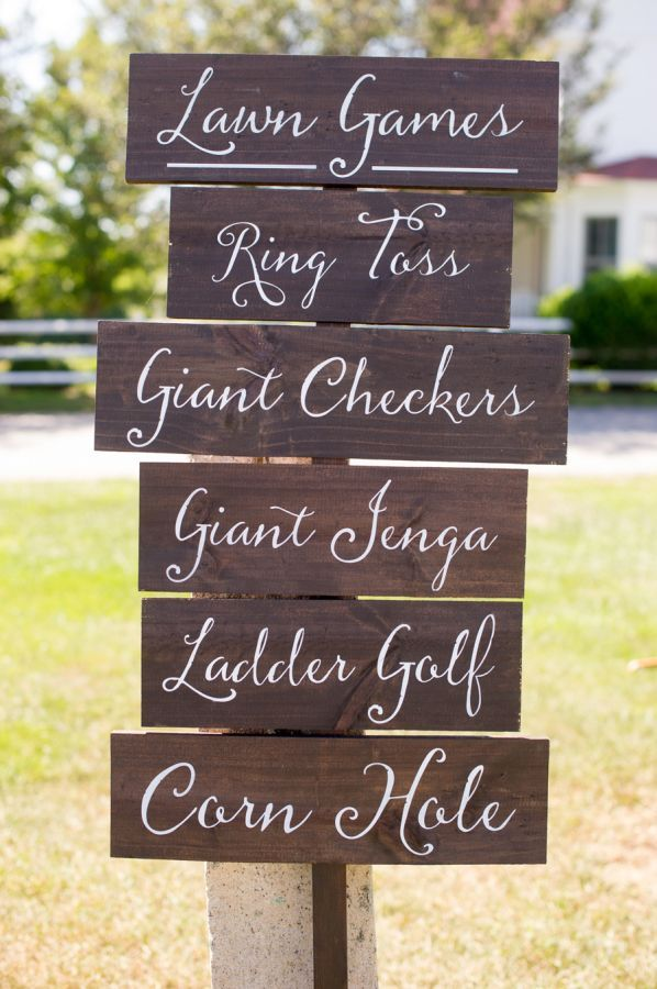 Rustic Fl Filled Connecticut Winery Wedding Lawn Weddingwedding Signsautumn