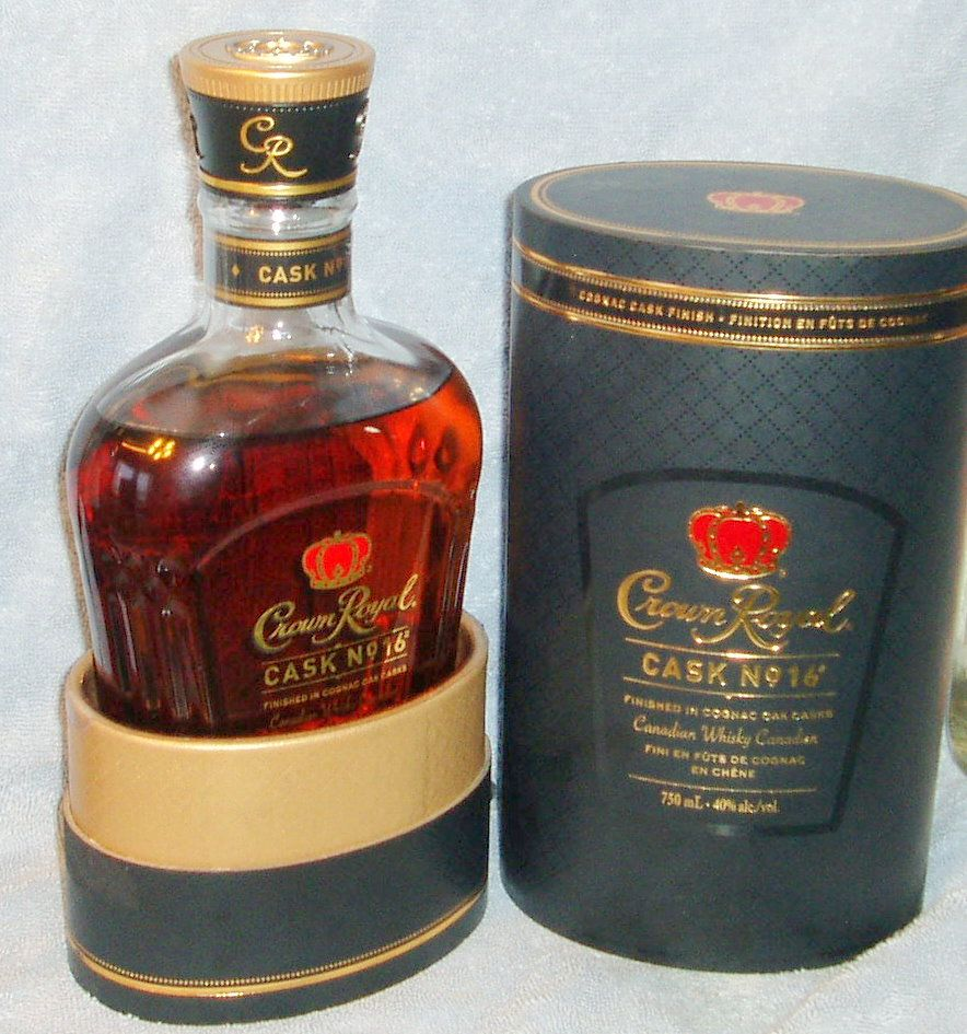 Crown Royal Cask No 16 Vodka Licor Whisky