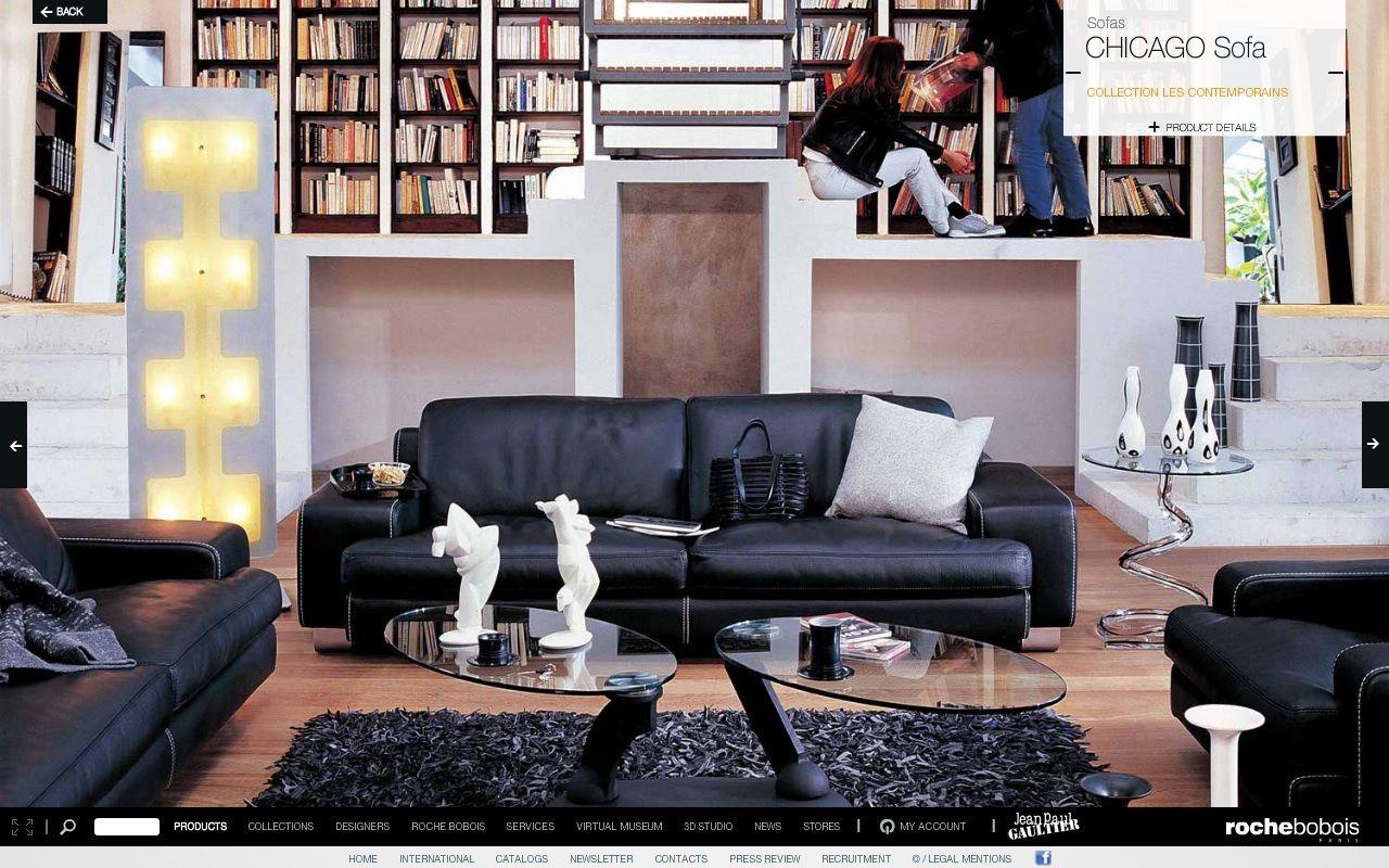 Living Room Inspiration 120 Modern Sofas By Roche Bobois: Roche Bobois - Chicago Sofa