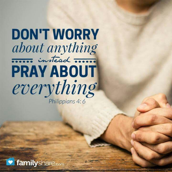 Don't Worry......