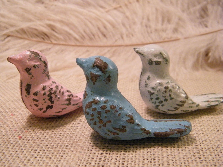 Bird Knob Pull, Cabinet Drawer Pull Knob, Bird, Nursery ...