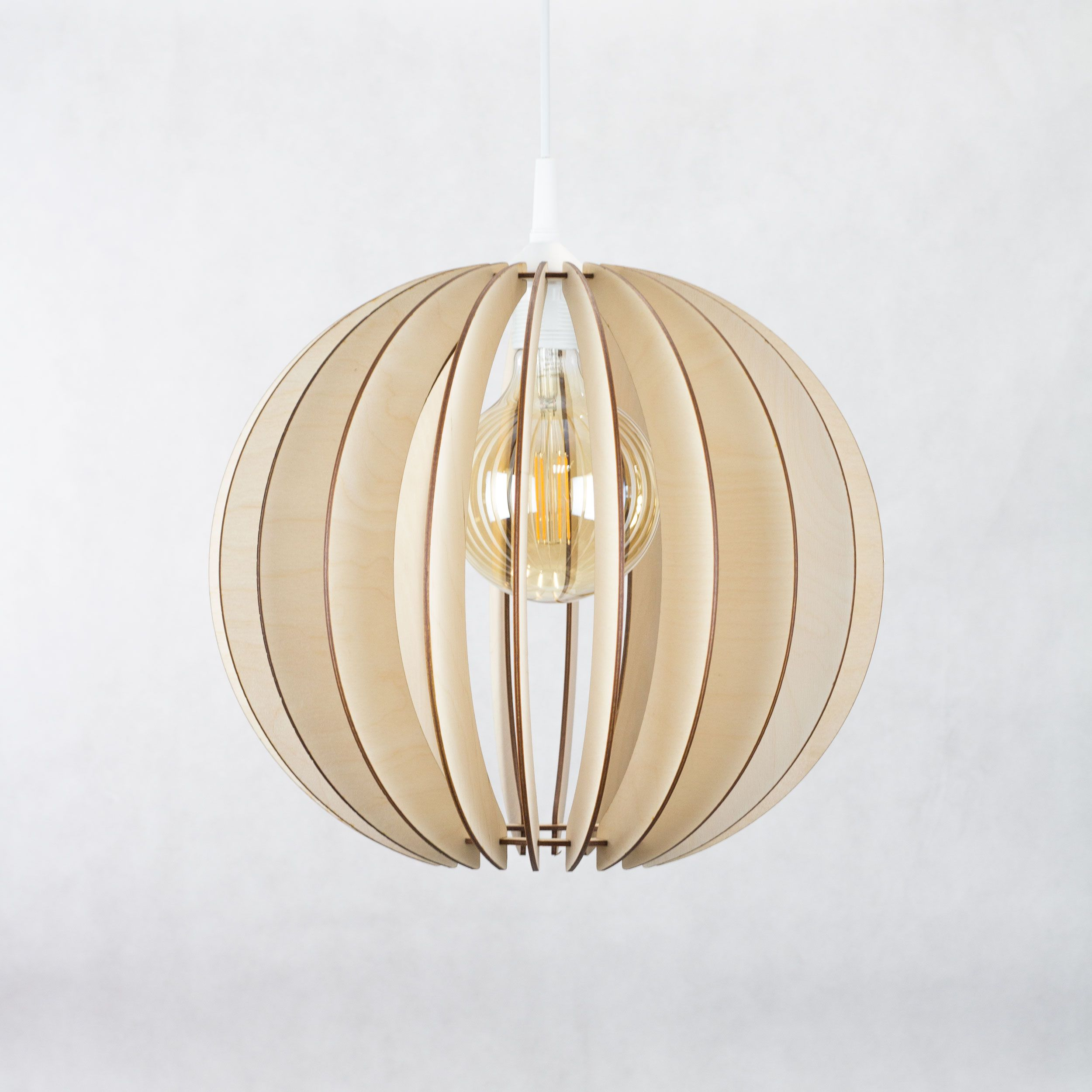Round Nordic Style Ceiling Light Wooden Lamp Hanging Lamp Ceiling Light Lamp Shade Scandinavian Design Includes Cord Set Ceiling Lights Lamp Light Light Fittings