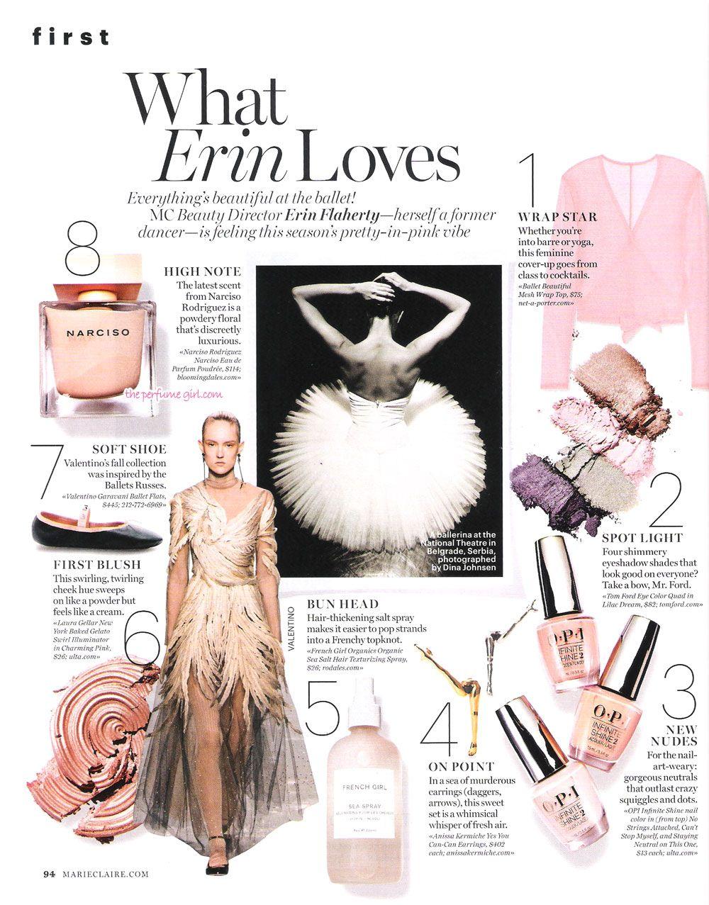 Narciso Rodriguez Narciso Poudree Perfume Editorial Mag Lay