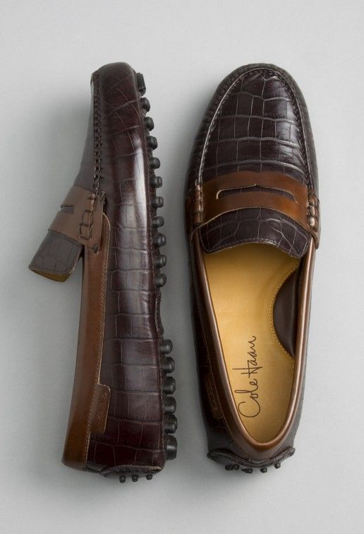 Cole Haan. Again, I prefer the traditional. I mean $200+, and 100's of pairs of shoes. I want them to be timeless. Leave the trendy ones, to the younger audience they are for. Your wallet will thank you. Your wife, or significant other; will thank me. :)