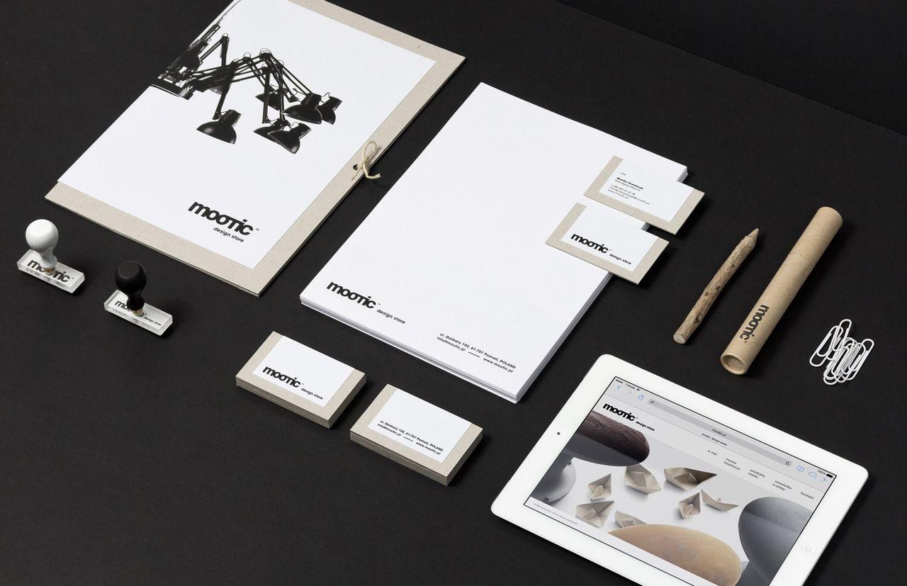 Mootic design store, identidad corporativa.