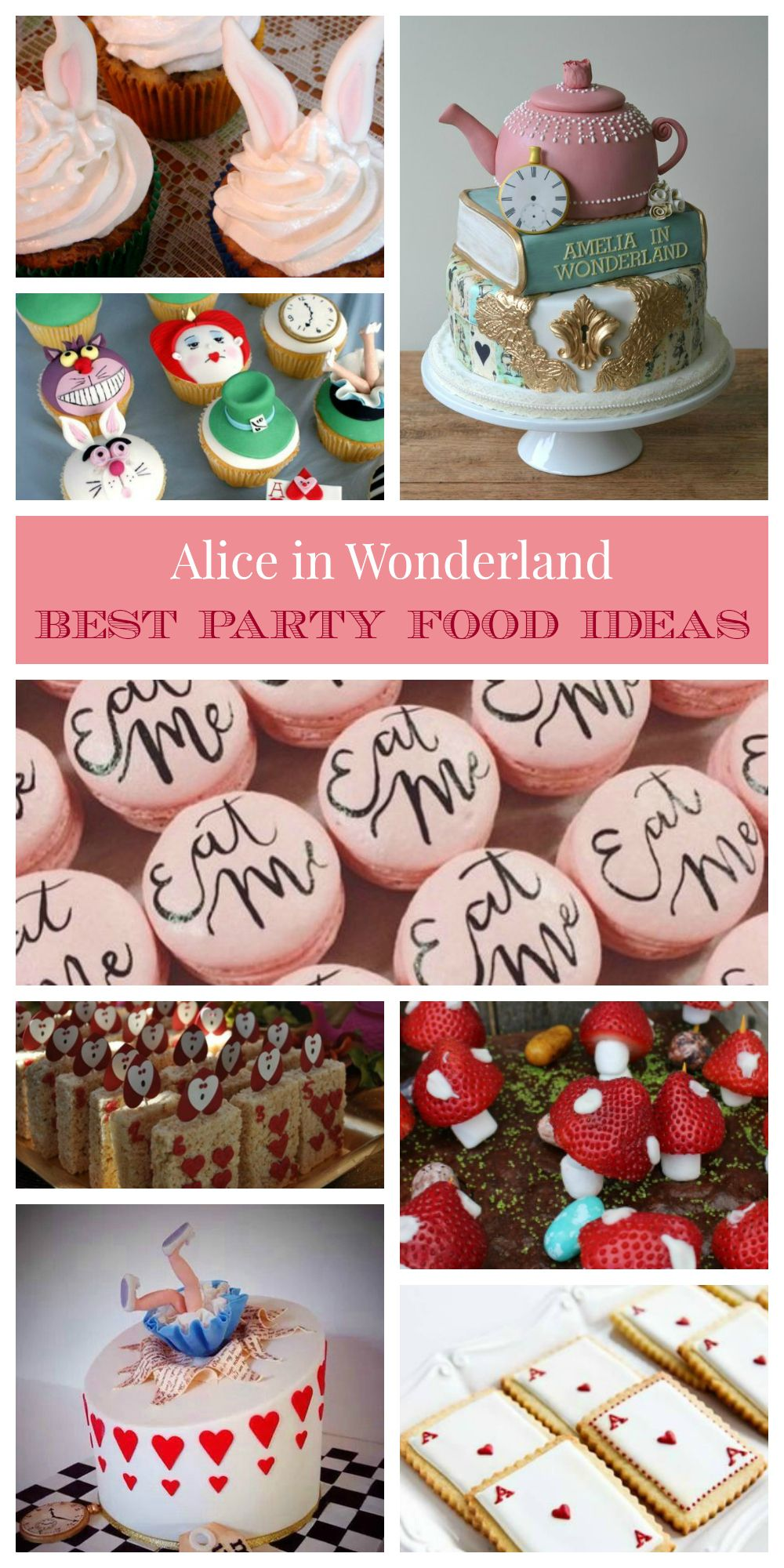 Alice In Wonderland Party Food Recipe Best 10 Ideas Sweet Dessert