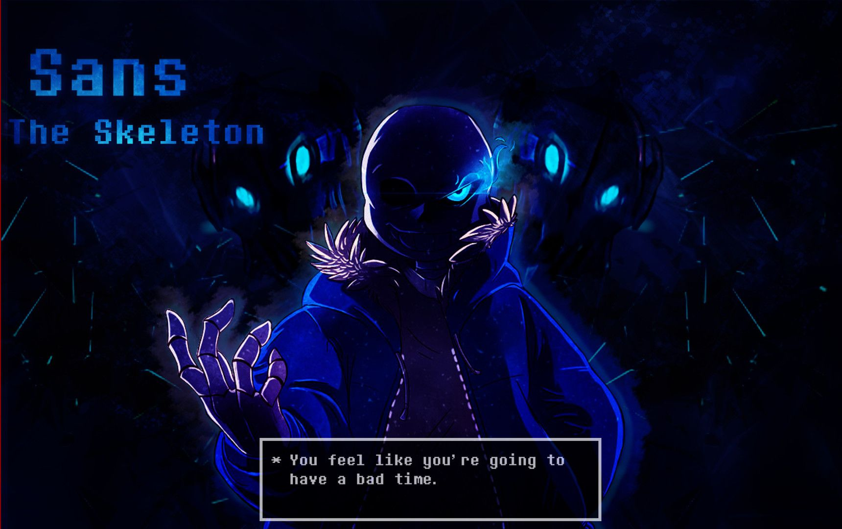 Sans The Skeleton Wallpaper By Mattsquat San Wallpaper Bad Timing