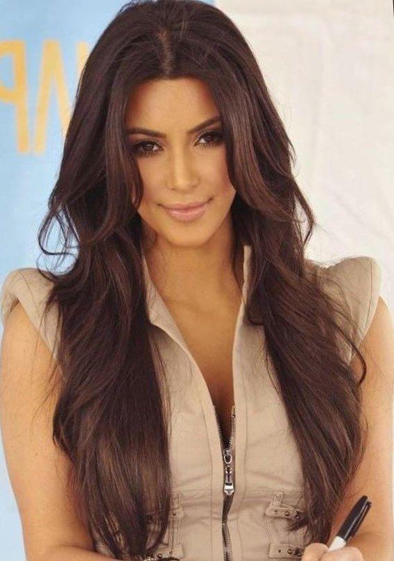 Frisuren lange braune haare - http://elegante-frisuren