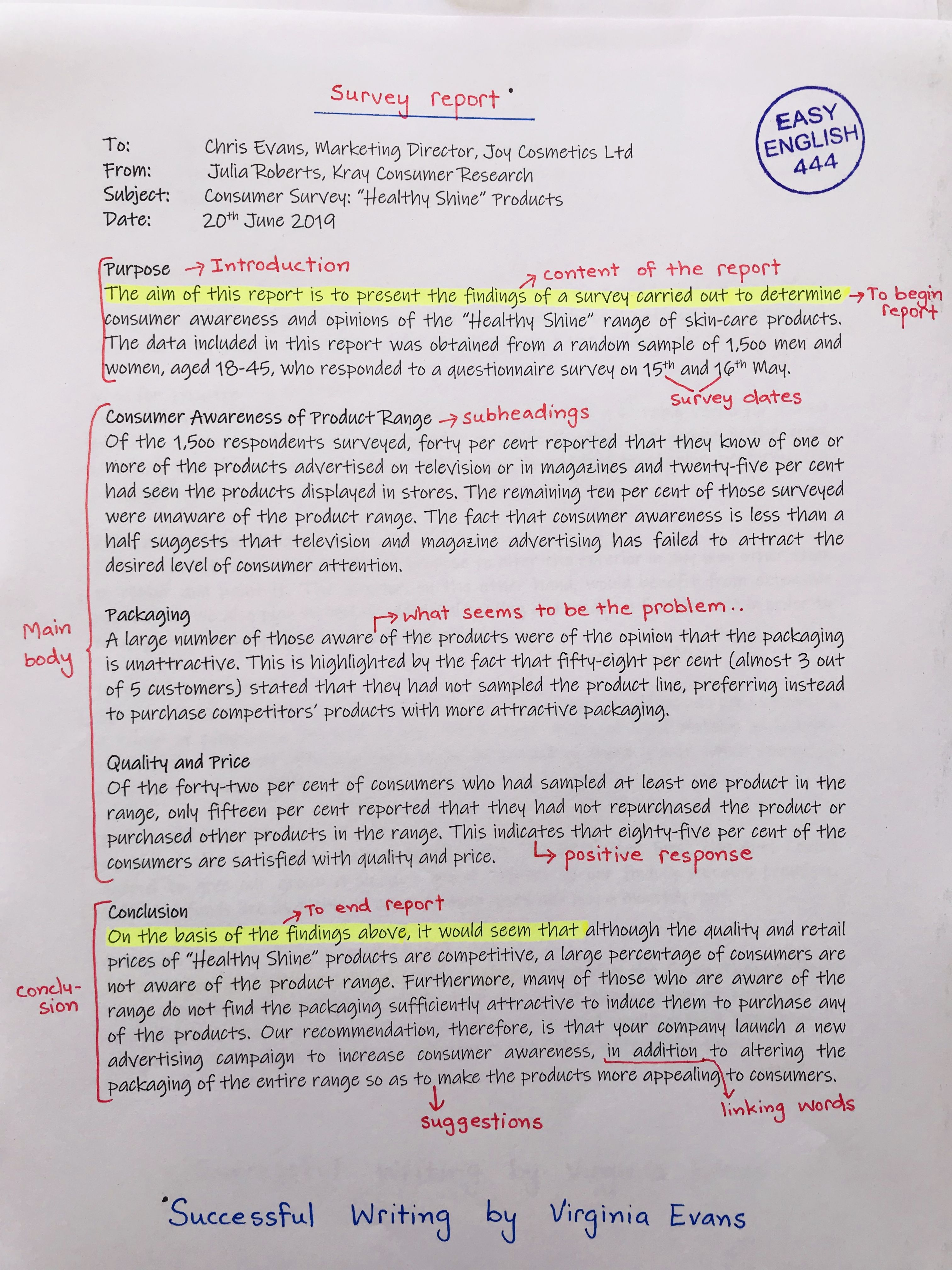Report Writing English Skill Learn Grammar Act 48 College Course Dissertation