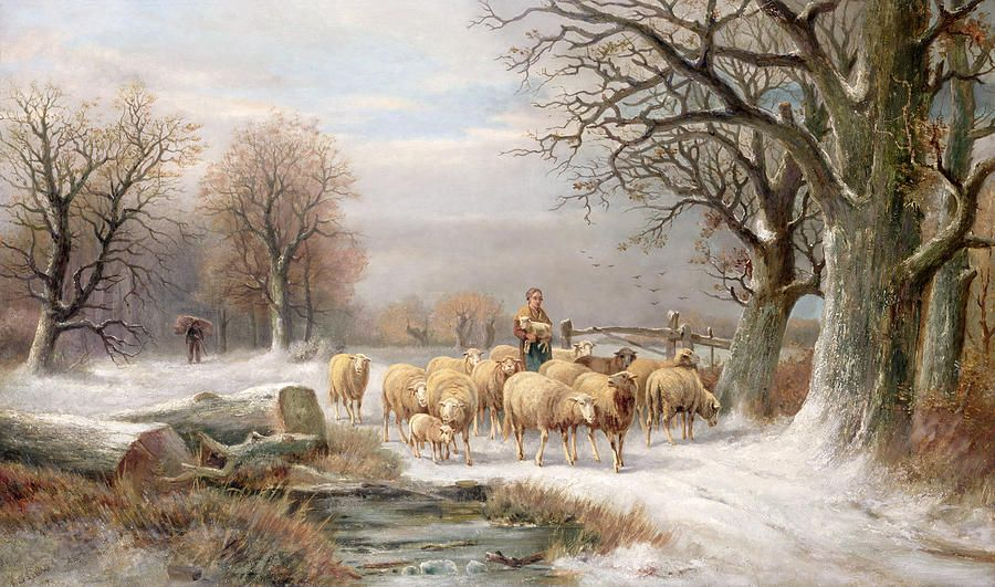 Austrian Landscape Small Oil Painting