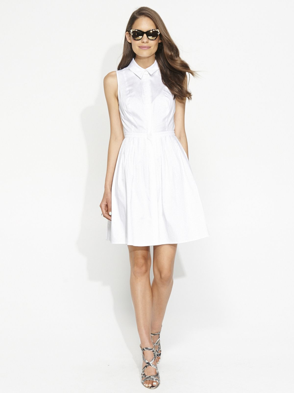 Image For Fit Flare Shirt Dress From Portmans Stylespiration