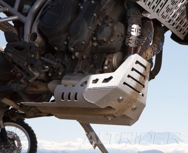 Altrider Skid Plate For The Triumph Tiger 800 Installed Triumph Tiger Triumph Tiger 800 Ducati Multistrada 1200
