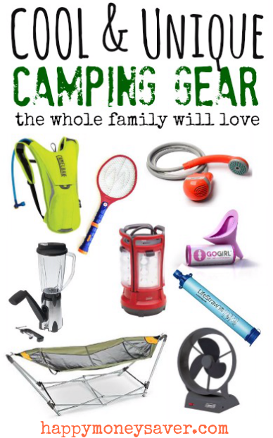 Unique And Cool Camping Equipment For The Whole Family