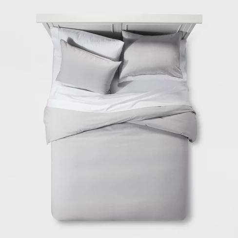 Nate Berkus Project 62 Washed Linen Blend Duvet Cover Set