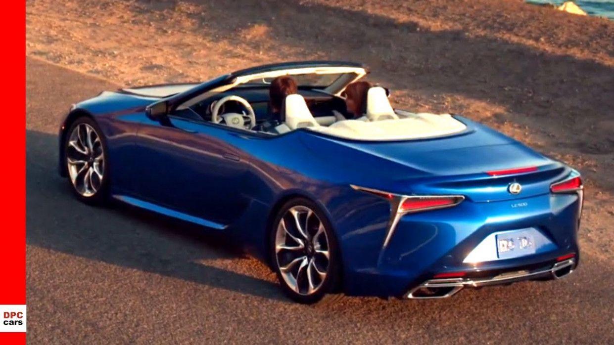 2020 lexus lc 500 convertible price exterior and interior