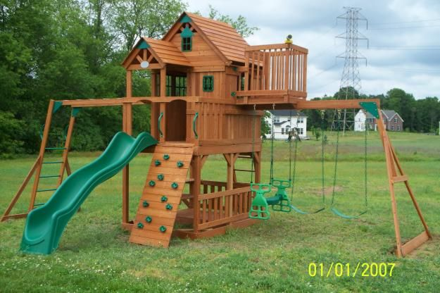 Playground Landscaping Ideas | ... For Small Backyard Wood Fence Design  Ideas Backyard Landscaping