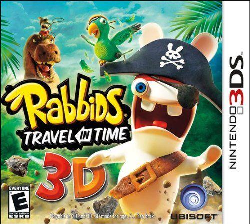 Rabbids Travel In Time Nintendo Nintendo 3ds Games