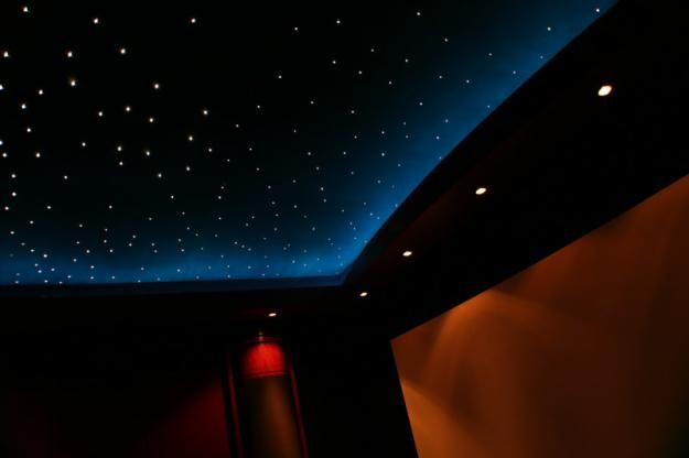 Starry Ceiling Galaxy Ceiling Fiber Lights Have To Make The Actual Ceiling