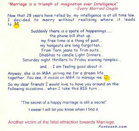 Funny Wedding Invitation Wordings