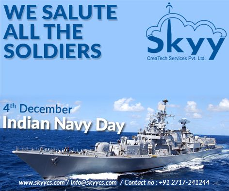 On The Occasion Of Indiannavyday Skyycreatech Saluting The Bravery And Patriotism Of Indian Navy Navyday Indian Navy Day Navy Day Indian Navy