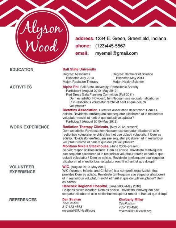 Custom Listing For Haleigh Sorority Resume Resume Helper Resume