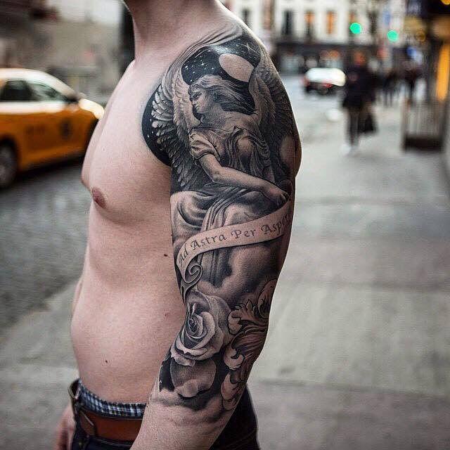 Pin De Edward En Edward Tatuaje Angel Tatuajes Brazo Y Tatuajes
