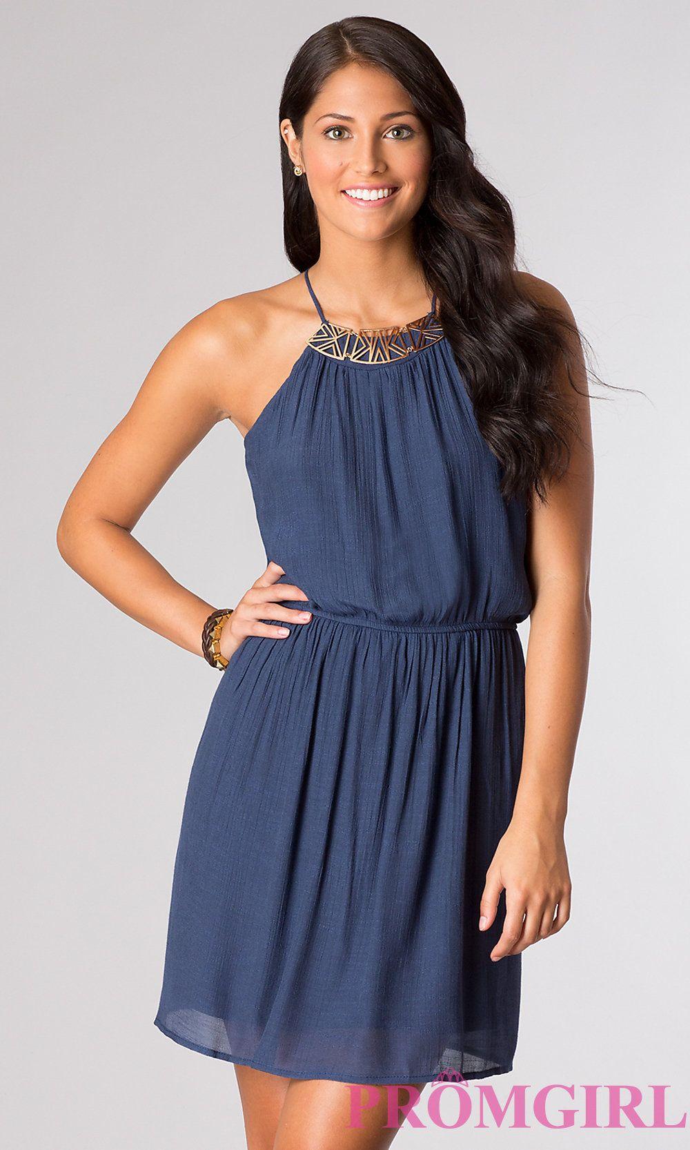 Casual short dresses images