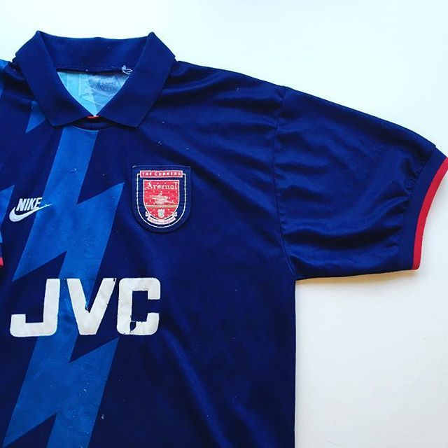 size 40 9c466 d2949 Arsenal Away 1995/96 20% off using code: BLACKFRIDAY Link in ...