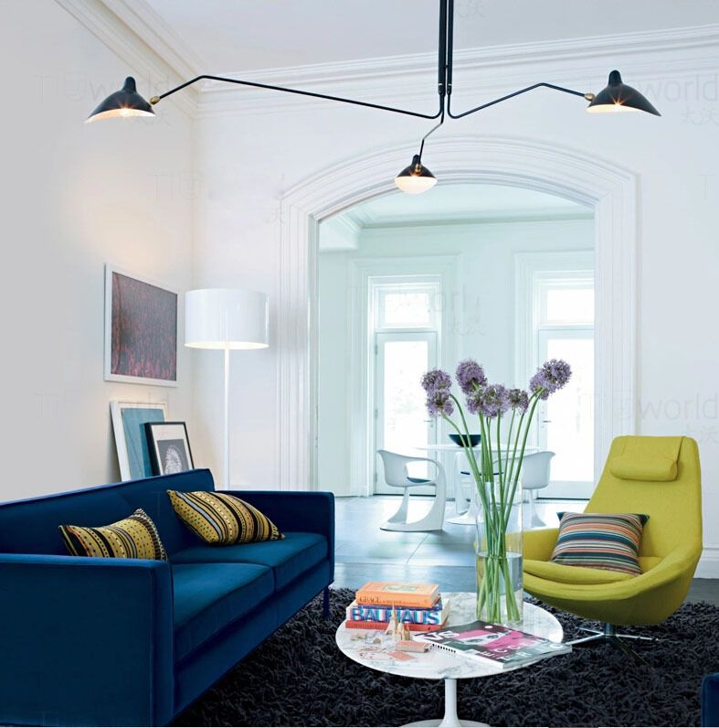Moderne Serge Mouille Deckenleuchte Schlafzimmer Kreative - deckenleuchten für schlafzimmer