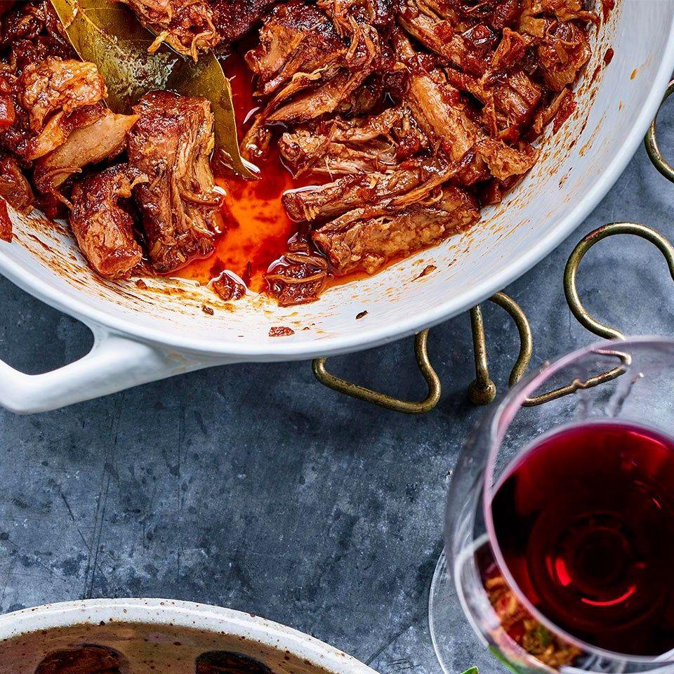 Red Wine Braised Pork Recipe Braised Pork Pork Shoulder Recipes Recipes