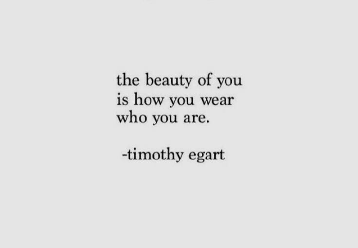 Beautiful you  on We Heart It