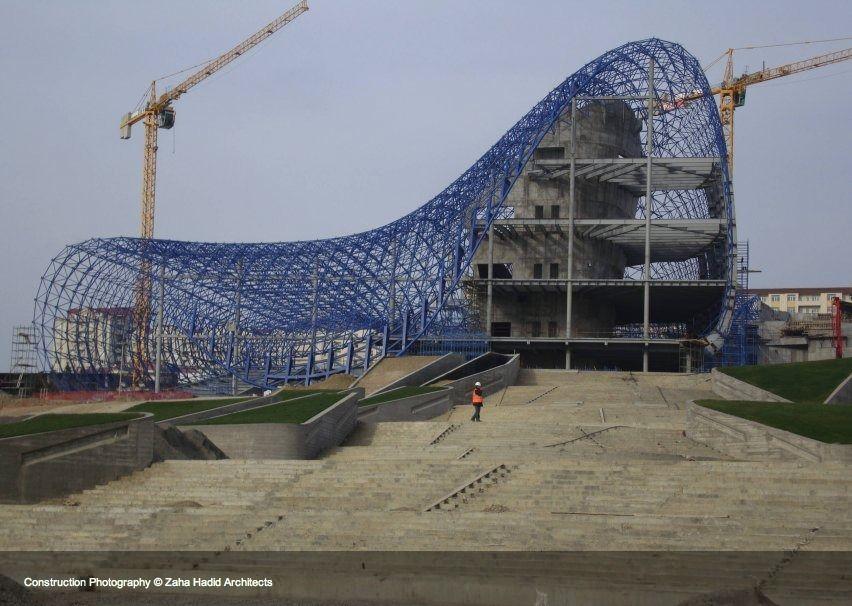 Galer a de en construcci n heydar aliyev centre zaha for Arquitectura parametrica pdf