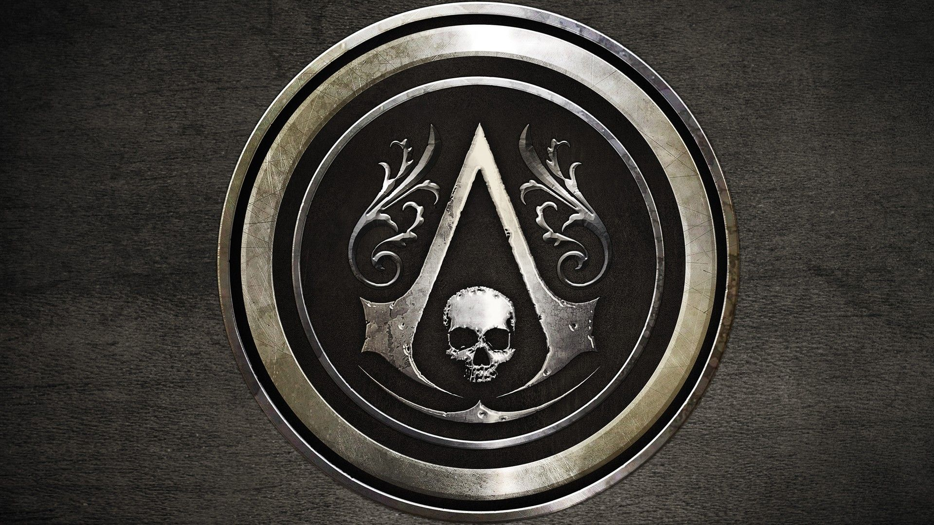 Assassin S Creed Iv Black Flag Metal Plate Wallpaper