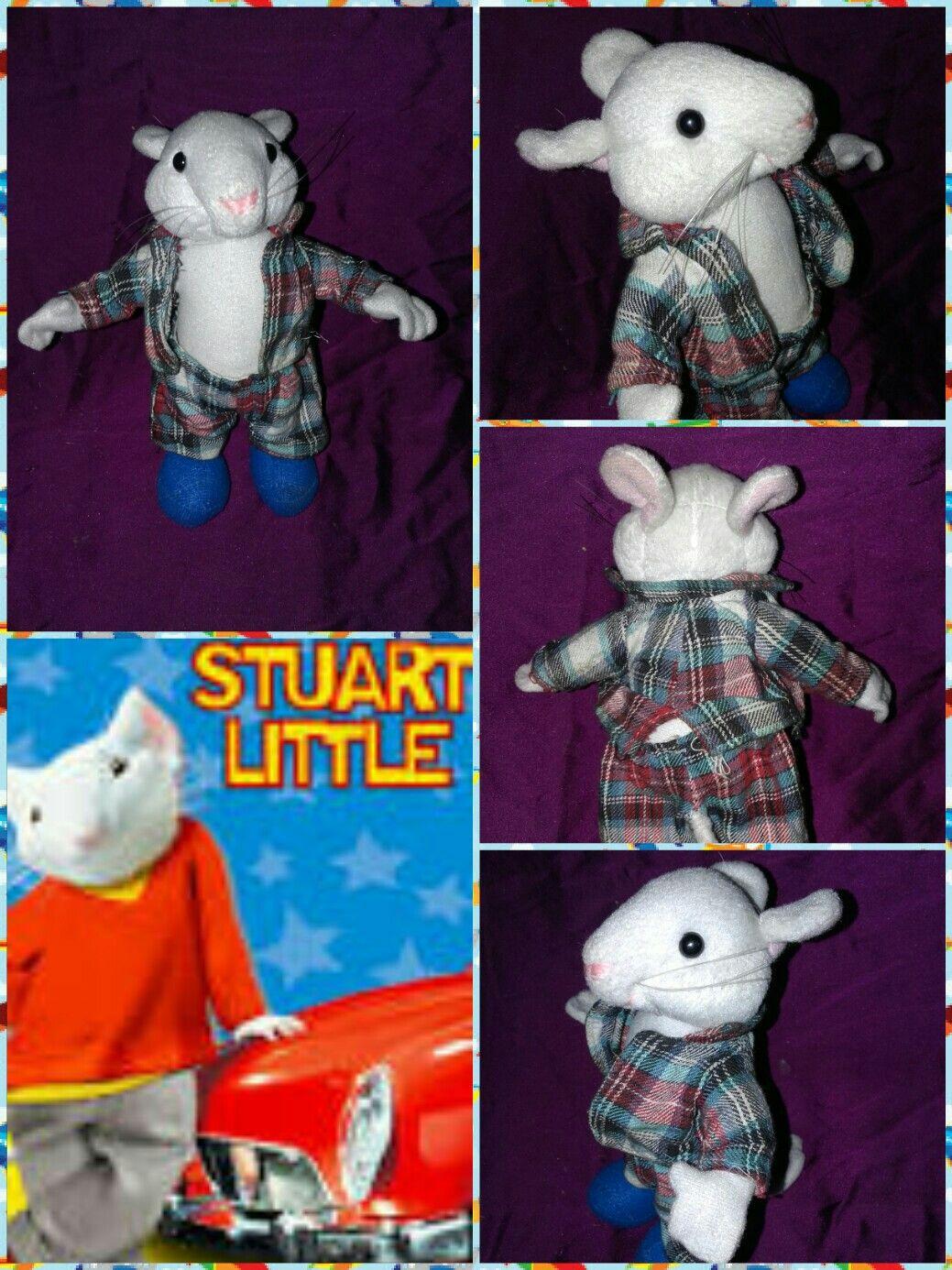 Stuart Little Con Ropa Ratoncito Pel Cula 18cm # Muebles Bebotes