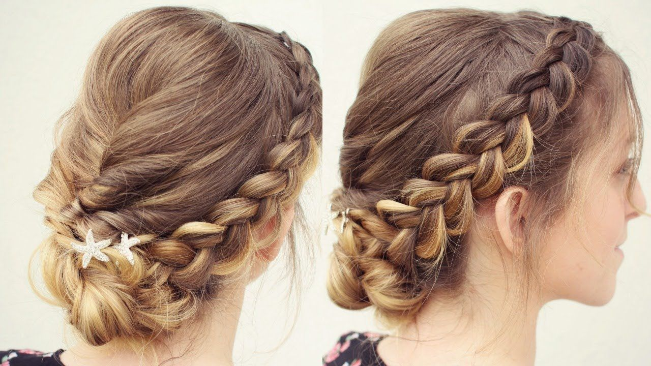Graduation Hairstyle Updo Idea Braidsandstyles12 Braided Hairstyles Easy Hair Styles Graduation Hairstyles