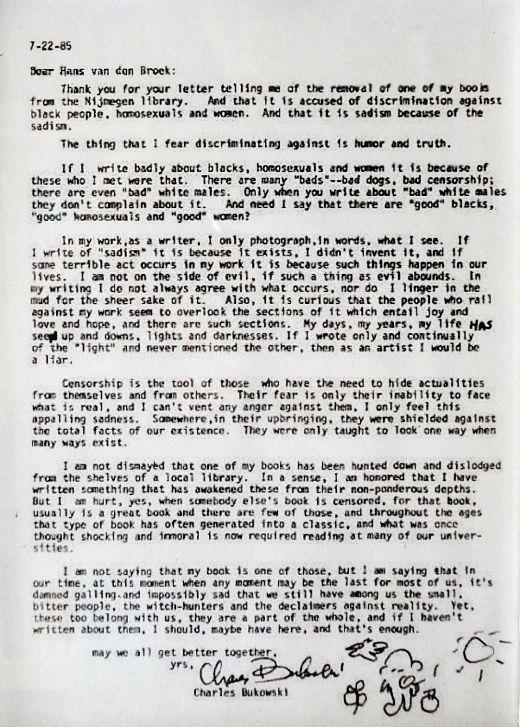 Carta Bukowski