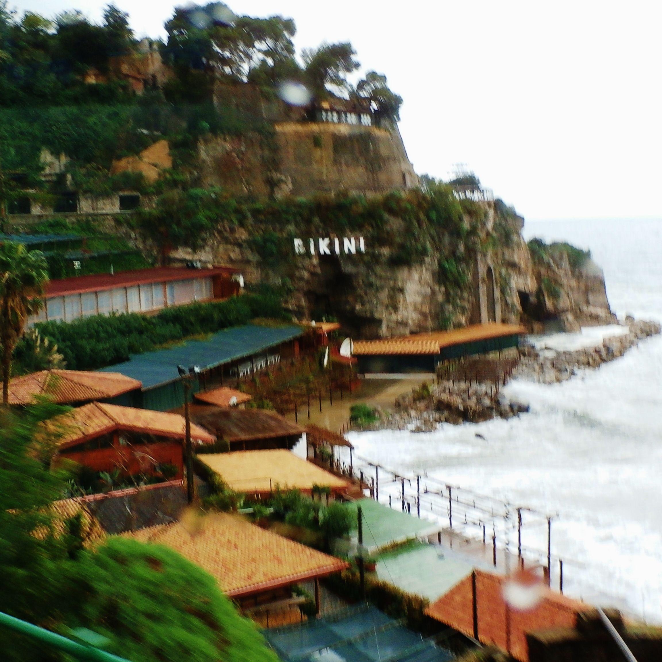rainy day in Naples