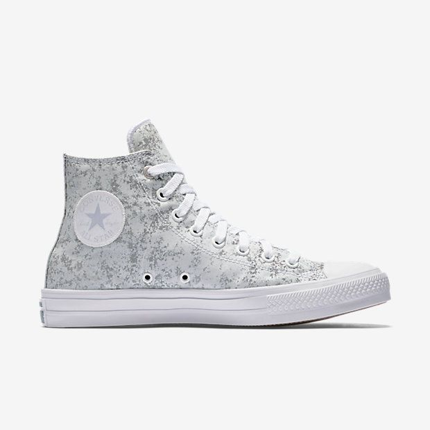 4f727ee86 Converse Chuck Taylor All Star II Reflective Wash High Top Unisex Shoe