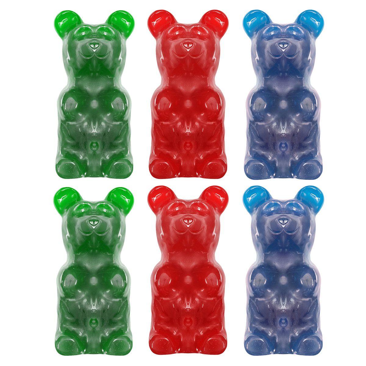 Endless Supply Of Giant Gummy Bears Gummy Bear 6 Pack Popular Mix By Giant Gummy Bears Gummy Bears Gummies Favorite Candy