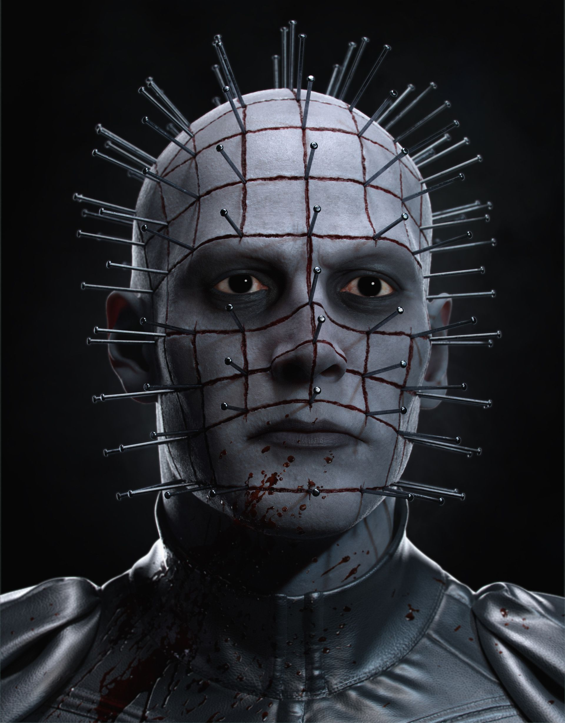 Made with Autodesk Maya 3D modeling and animation software - Pinhead