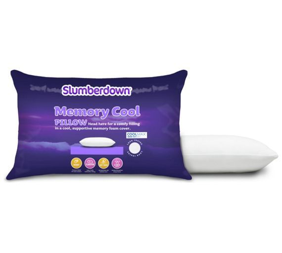 Slumberdown Memory Foam Plus Pillow