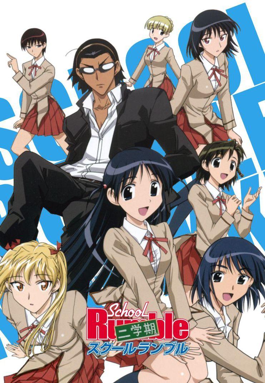 School Rumble Genres Comedy Romance Shounen