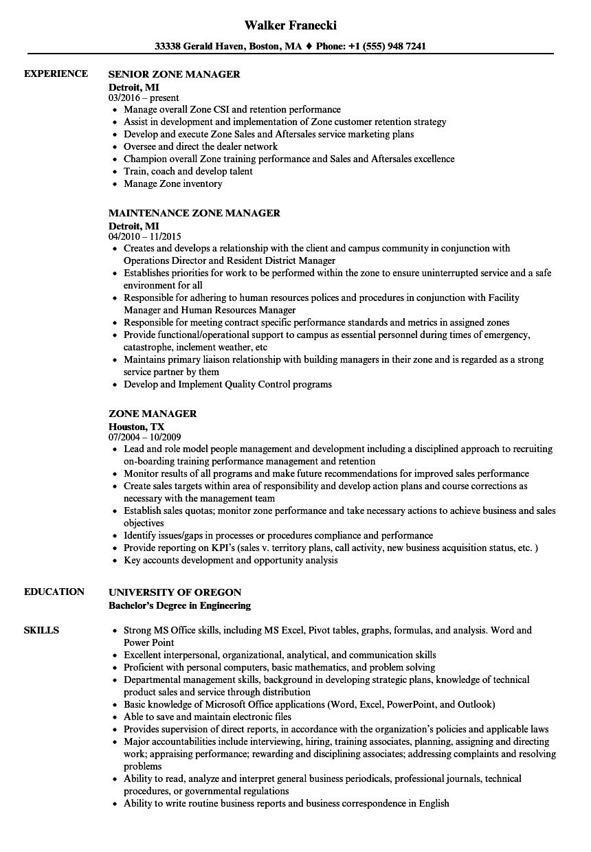 Sample Resume Zone Good resume examples, Engineering