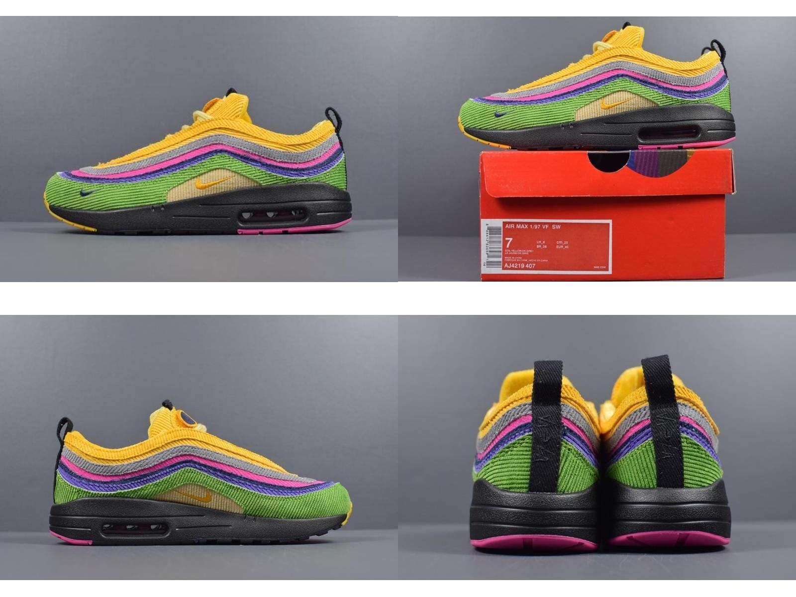 Direct Selling Promotion Sean Wotherspoon S Nike Air Max 1 97 Vf