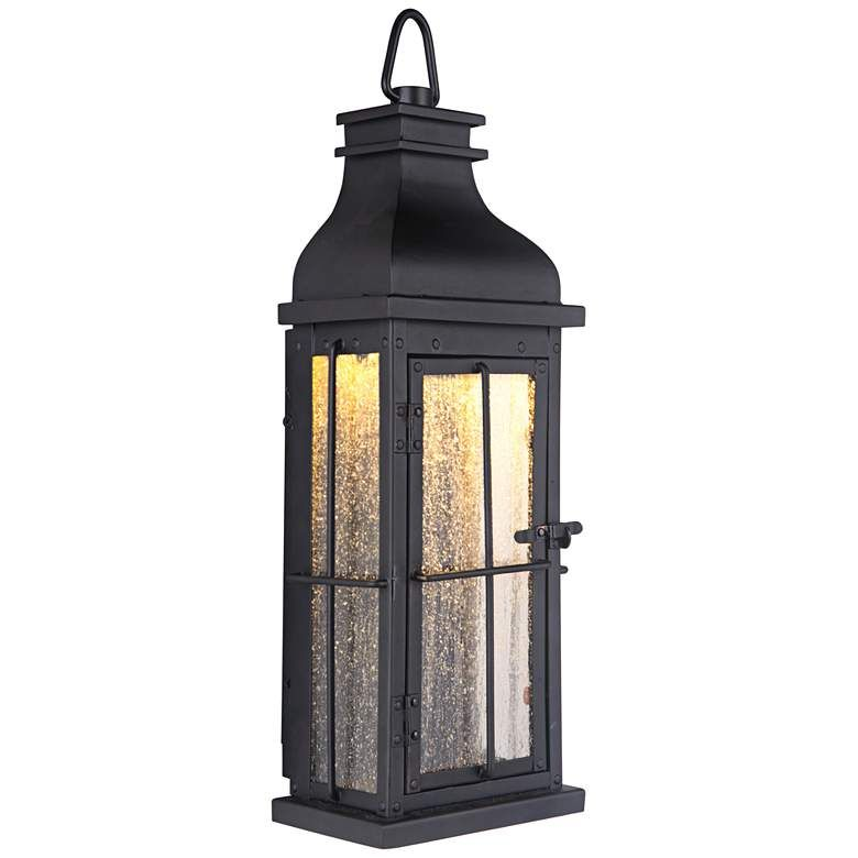 Craftmade Vincent 17 High Midnight Led Outdoor Wall Light 59k24 Lamps Plus Craftmade Led Outdoor Wall Lights Outdoor Wall Lighting