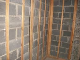 How To Install Furring Strips To Concrete Basement Walls Http Www Homeadditionplus Com In Concrete Basement Walls Framing Basement Walls Framing A Basement