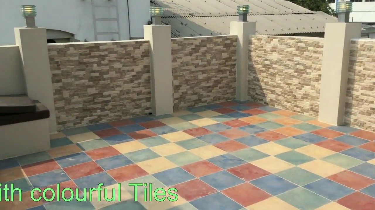 Terrace Tiles Design Ideas | Terrace Design Tour ...