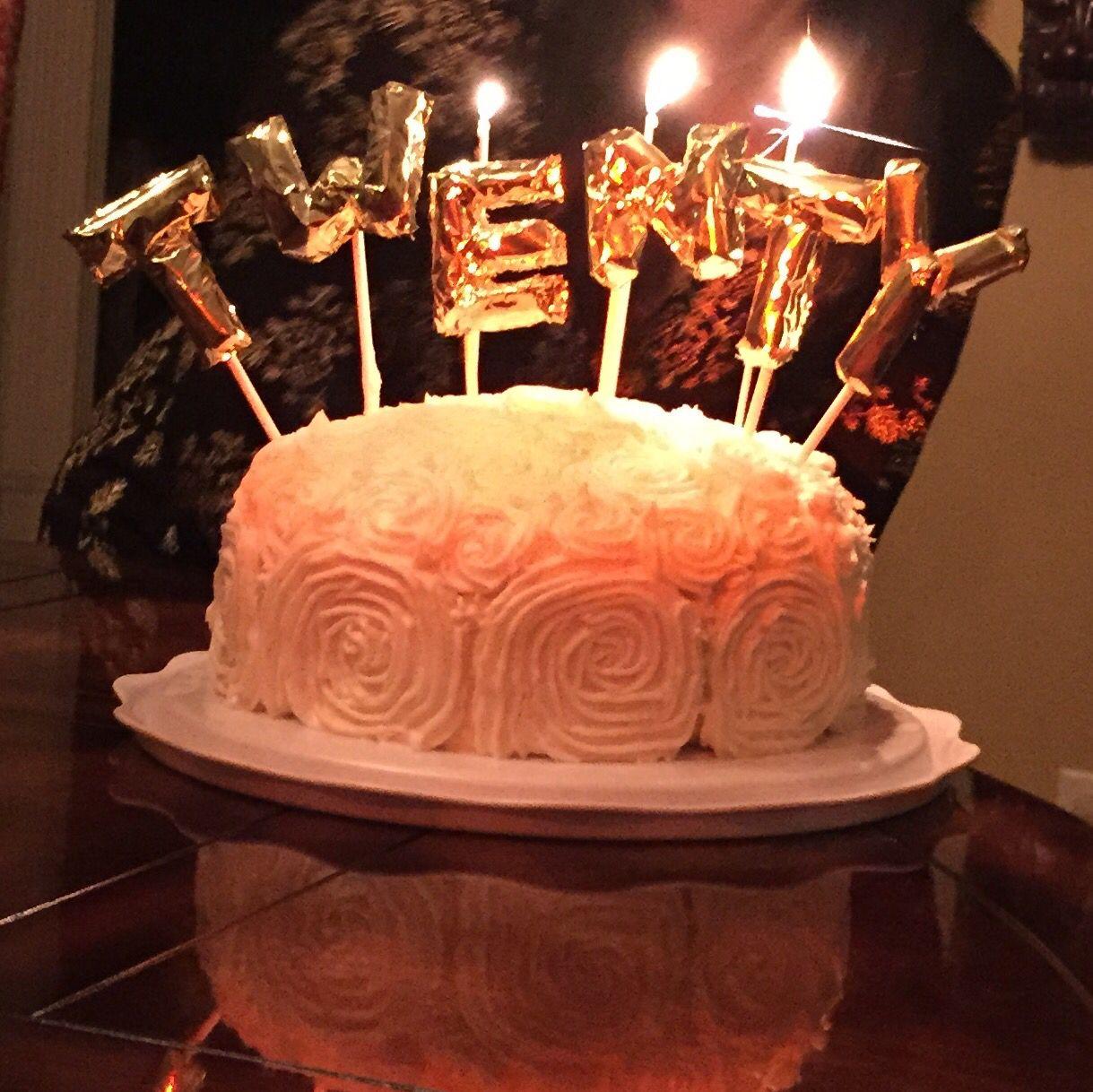 20th birthday cake mini mylar balloon cake toppers see